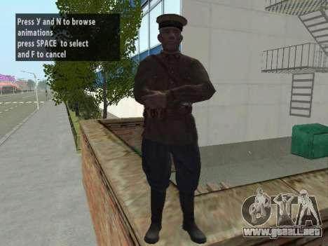 El Comisionado De Markov para GTA San Andreas segunda pantalla