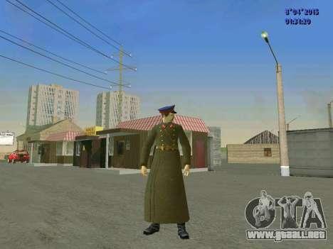 Felix Edmundovich Dzerzhinsky para GTA San Andreas segunda pantalla