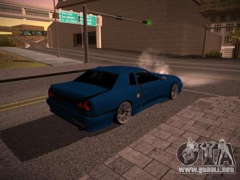 Elegy GunkinModding para GTA San Andreas vista posterior izquierda
