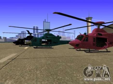 GTA 5 Valkyrie para GTA San Andreas interior