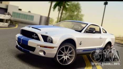 Ford Mustang Shelby GT500KR para GTA San Andreas