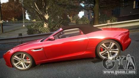 Jaguar F-Type v1.6 Release [EPM] para GTA 4 left