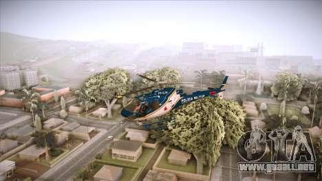 Pegasus 11 PMMG para GTA San Andreas vista posterior izquierda