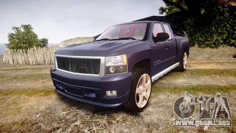 Chevrolet Silverado 1500 LT Extended Cab wheels2 para GTA 4