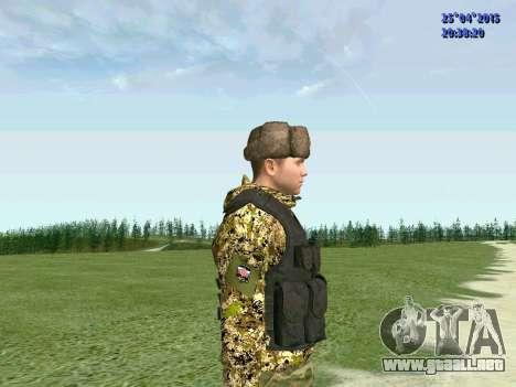 Combatiente de la RPA para GTA San Andreas tercera pantalla