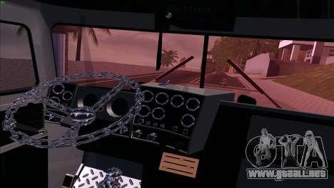 Mack RS700 Custom para visión interna GTA San Andreas