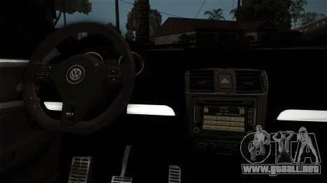 Volkswagen Jetta GLI Edition 30 2014 para la visión correcta GTA San Andreas