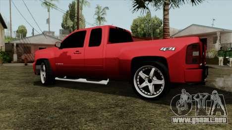 Chevrolet Silverado Tuning para GTA San Andreas left