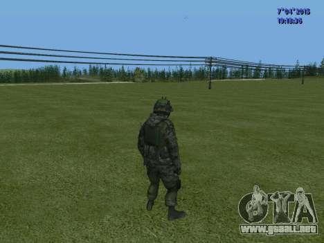 SWAT para GTA San Andreas sexta pantalla