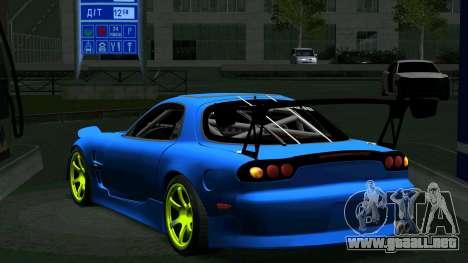 Mazda RX-7 FD3S Vertex para la visión correcta GTA San Andreas