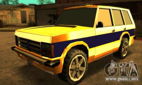 Luni Huntley para GTA San Andreas