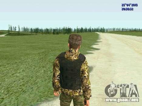 Combatiente de la RPA para GTA San Andreas sucesivamente de pantalla