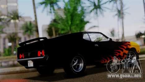 Ford Mustang Mach 1 429 Cobra Jet 1971 HQLM para las ruedas de GTA San Andreas
