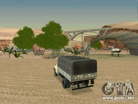 GAZ 3309 para la vista superior GTA San Andreas