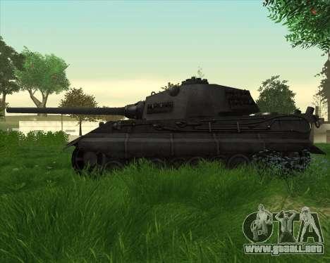 E-75 Tiger III para GTA San Andreas left