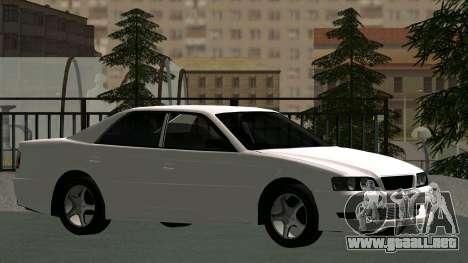 Toyota Chaser para vista lateral GTA San Andreas