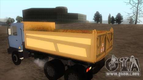 Tatra 815 para GTA San Andreas left