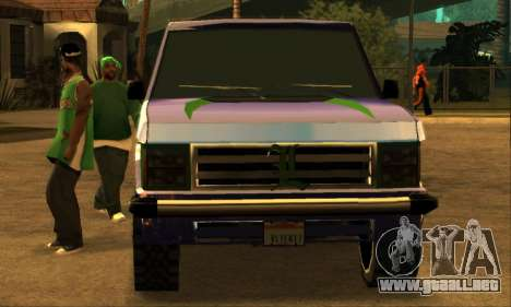 Luni Huntley para las ruedas de GTA San Andreas