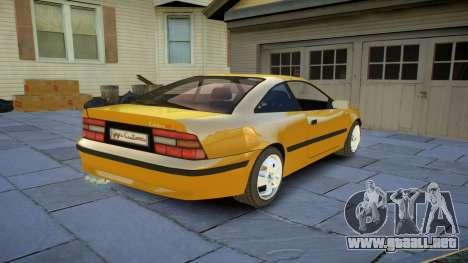 Opel Calibra v2 para GTA 4 vista hacia atrás