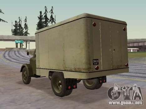 GAS 51 Vneshtorg para GTA San Andreas vista posterior izquierda