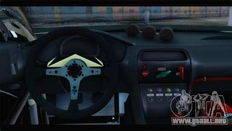 Nissan Silvia S14 Zenki Falken para GTA San Andreas vista posterior izquierda