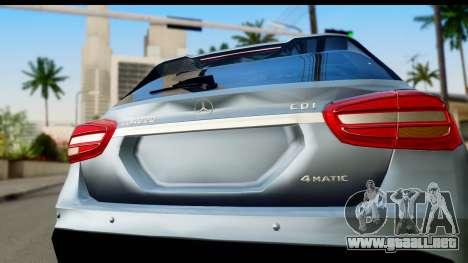 Mercedes-Benz GLA220 2014 para la visión correcta GTA San Andreas