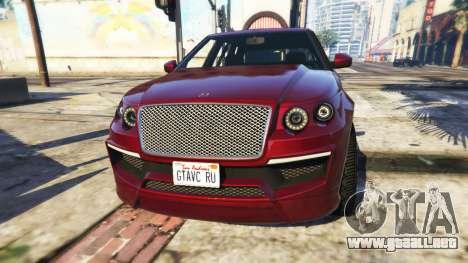 GTA 5 Customize Plate
