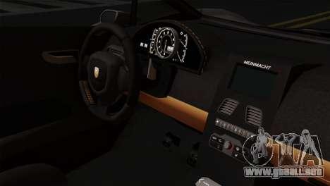 GTA 5 Pegassi Zentorno SA Style para la visión correcta GTA San Andreas