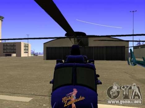 GTA 5 Valkyrie para vista inferior GTA San Andreas