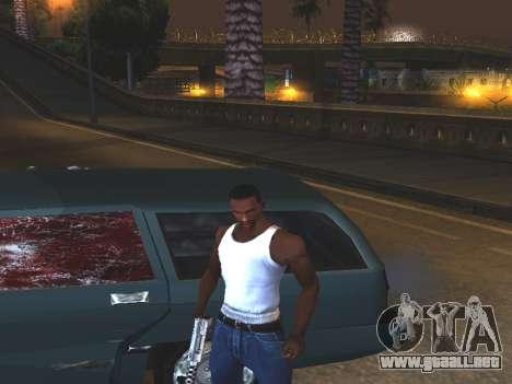 Sangre en las Ventanas de los coches para GTA San Andreas segunda pantalla