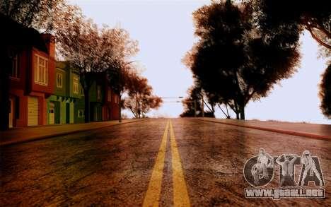 DirectX Test 1 - ReMastered para GTA San Andreas segunda pantalla