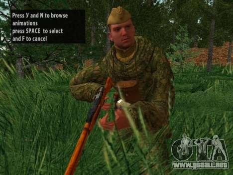 Los soldados del ejército rojo para GTA San Andreas