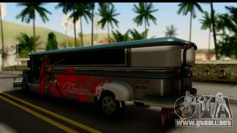 Patok Jeepney para GTA San Andreas left