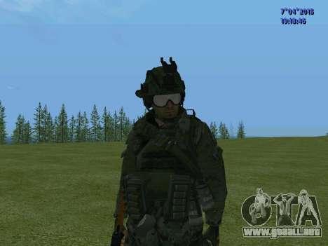 SWAT para GTA San Andreas octavo de pantalla