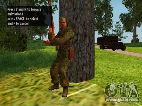 Los soldados del ejército rojo para GTA San Andreas octavo de pantalla