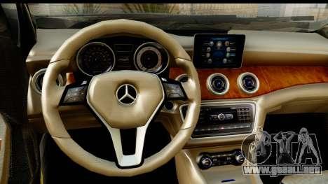 Mercedes-Benz GLA220 2014 para visión interna GTA San Andreas