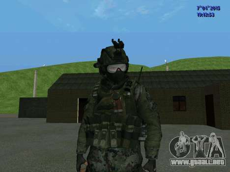 SWAT para GTA San Andreas segunda pantalla