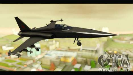Northrop F-5E Top Gun para GTA San Andreas