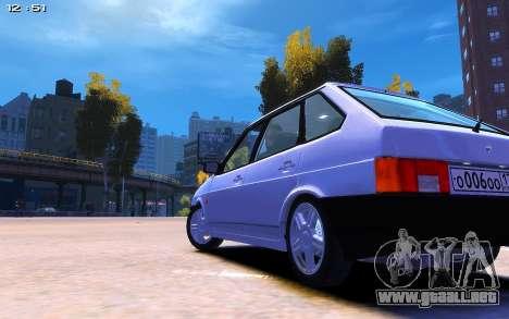 2109 para GTA 4 Vista posterior izquierda
