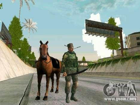 Shashka Cosaco para GTA San Andreas