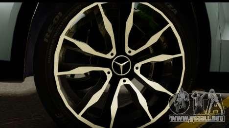 Mercedes-Benz GLA220 2014 para GTA San Andreas vista hacia atrás