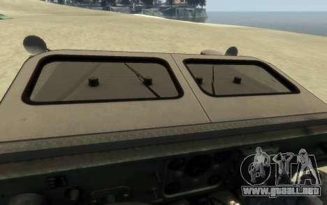 M1161 Growler para GTA 4 visión correcta