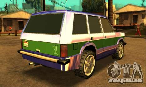 Luni Huntley para el motor de GTA San Andreas