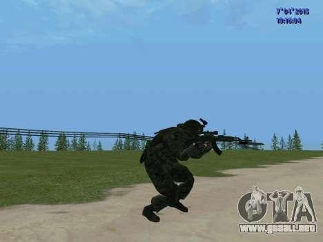 SWAT para GTA San Andreas quinta pantalla