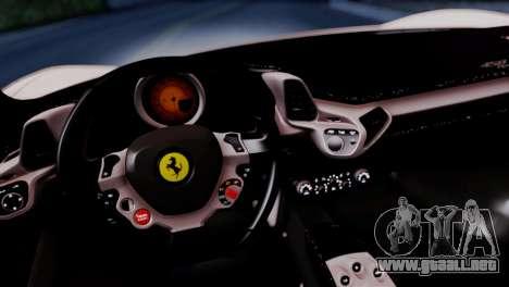 Ferrari 458 Italy Liberty Walk LB Performance para la visión correcta GTA San Andreas