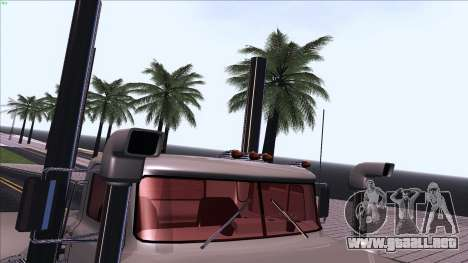 Mack RS700 Custom para la vista superior GTA San Andreas