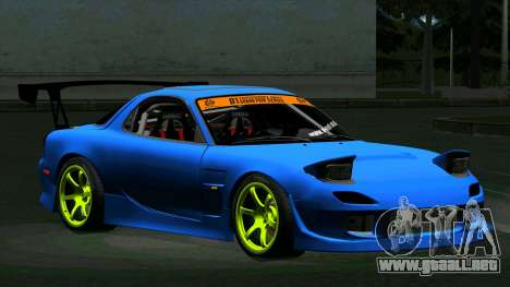 Mazda RX-7 FD3S Vertex para GTA San Andreas