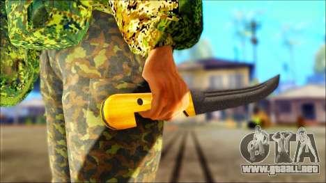 Shashka Cosaco para GTA San Andreas tercera pantalla