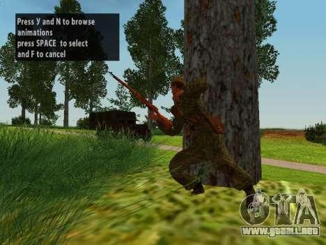 Los soldados del ejército rojo para GTA San Andreas novena de pantalla