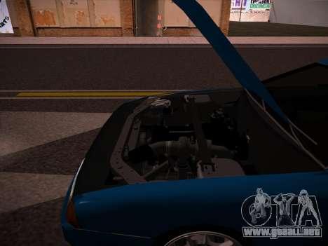 Elegy GunkinModding para GTA San Andreas vista hacia atrás